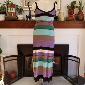 MISSONI Coveted Sexy Boho Knit MAXI Dress Sz 2
